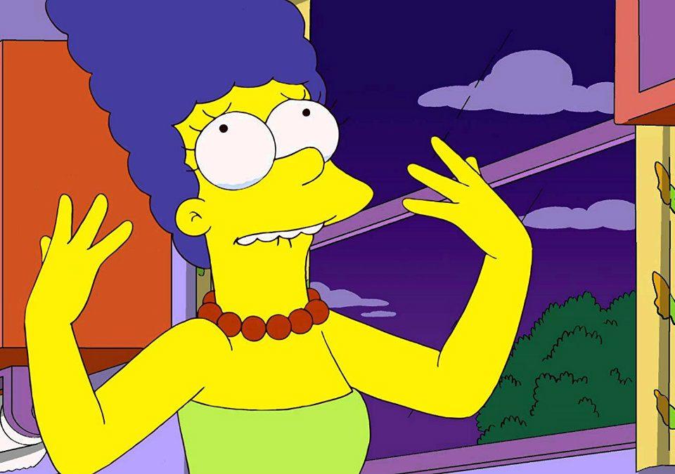 Marge Simpson, experta en reprimir emociones